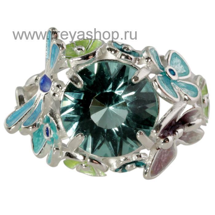 кольцо серебряное без камня