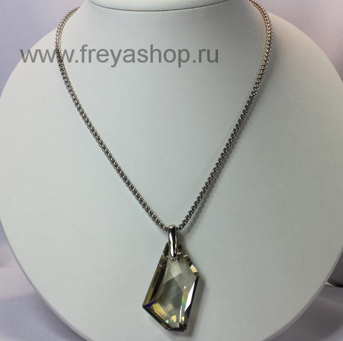 подвеска из крупного кристалла Сваровски